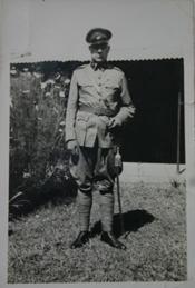 Vader Cornelis Moens (1939) Foto: privécollectie R. Reijerse-Moens