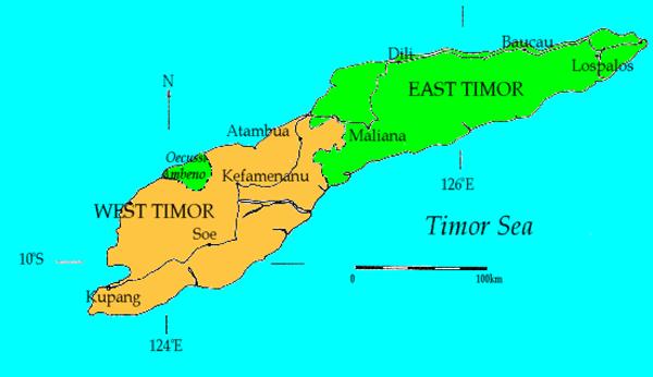 Timor-map