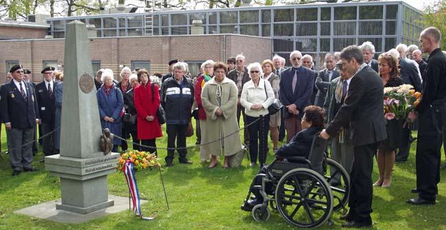 Bijeenkomst ter ere van het Indisch verzet. Bronbeek 27 april 2012. Foto: H. de la Croix.