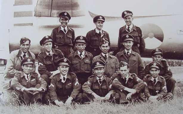 Indische militairen van de luchtbasis Volkel