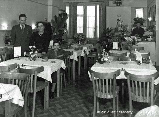 Restaurant Djokja in Amsterdam  Photo: private collection Keasberry