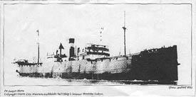 De Yunyo Maru werd op 18 september 1944 door de Britse onderzeeboot Tradewind tot zinken gebracht. 5.620 opvarenden kwamen om