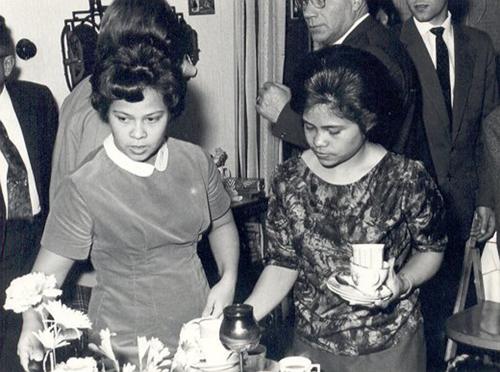 Maudy van Raemdonck en haar zus Jane