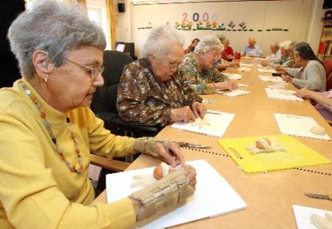 Woonzorgcentrum Rumah Saya in Ugchelen: Indisch-Nederlandse senioren er zich senang laten voelen  Foto: © Bjorn Kiezenberg