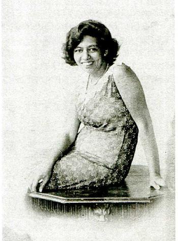 Echtgenote Pita (eigenlijk Josephine Antoinette) rond 1930? Bron: persoonlijke collectie Erven G.A. Schotel