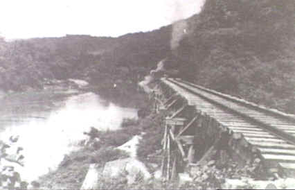 Wan-Po viaduct in 1945