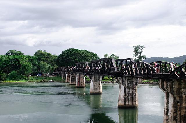 De brug over de Kwai rivier