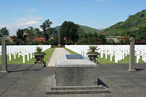 Erebegraafplaats Leuwihgajah te West-Java
