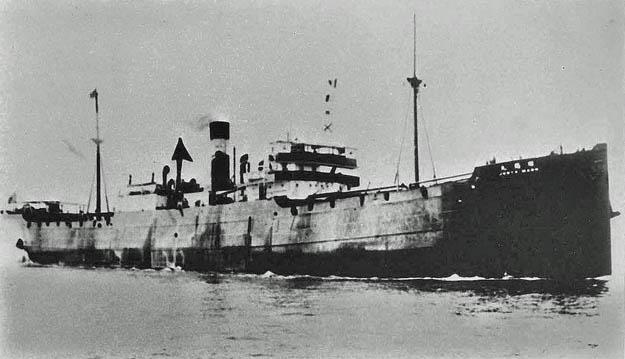 Junyo Maru. Op 18 september 1944 werd het schip voor de westkust van Sumatra tot zinken gebracht door twee torpedo's van de Britse onderzeeboot HMS Tradewind