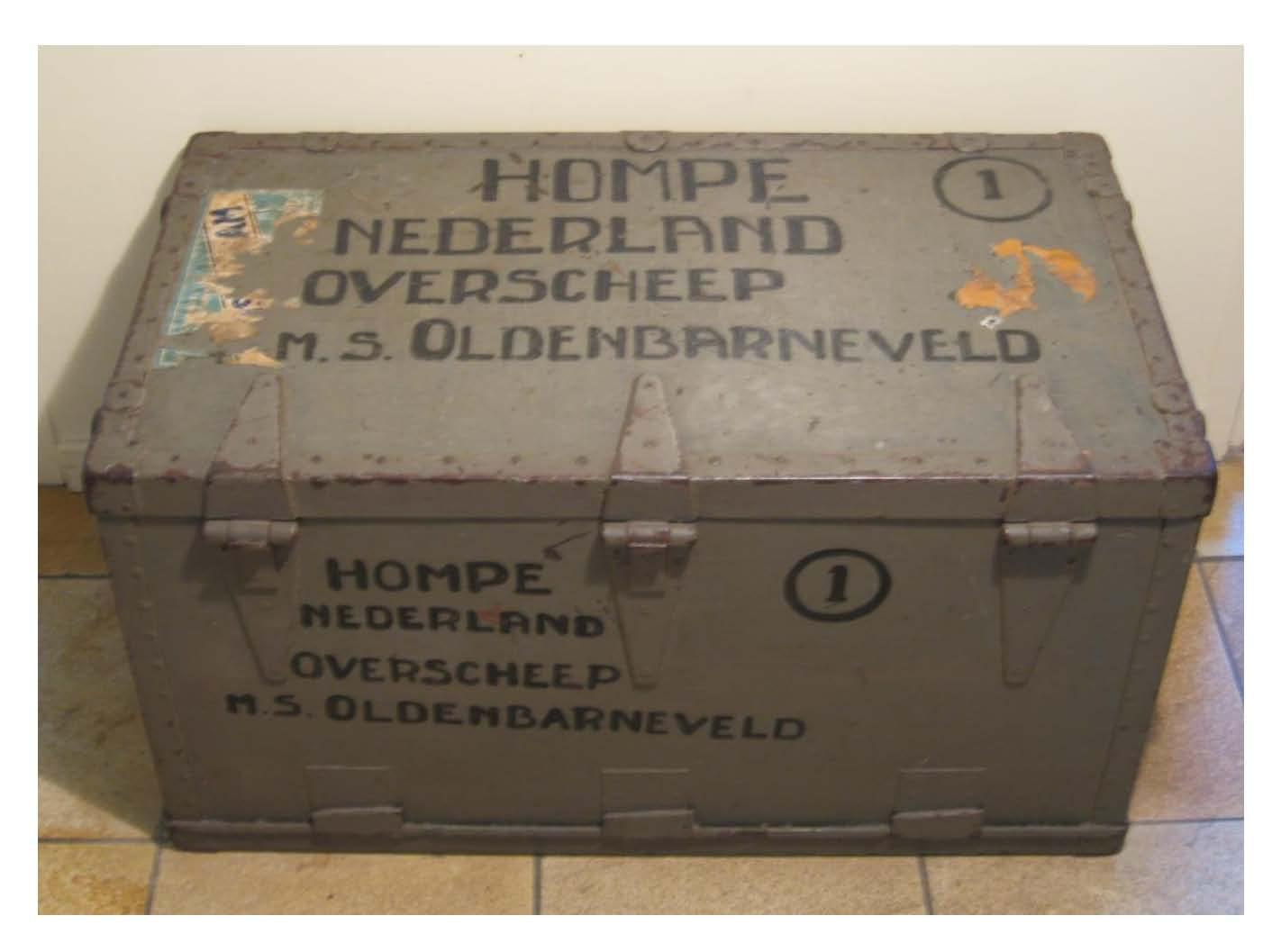 Het einde van Indië betekende de repatriëring van Jack en Truus Hompe, Louise's ouders, naar Nederland  Foto: privécollectie Erven Hompe