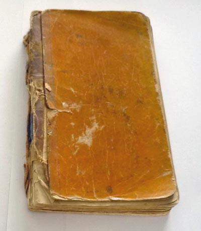 9.B Notitieboek Voorkant -