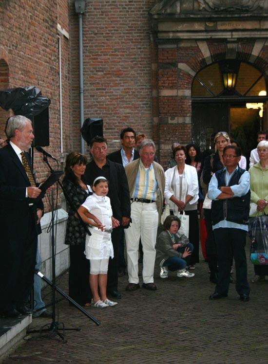 Herdenken in Nijmegen 2008. Indischen en betrokken Nederlanders hebben behoefte aan een jaarlijkse herdenking van de oorlog in het Verre Oosten en de gevallenen