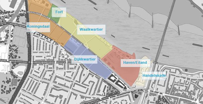 plattegrond koningsdaal