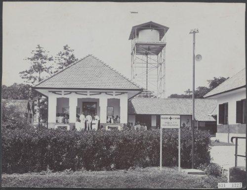 polikliniek en watertoren Ketanen