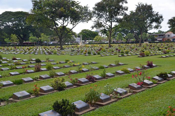 Kanchanaburi begraafplaats1