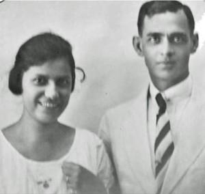 Vader en moeder Disco
