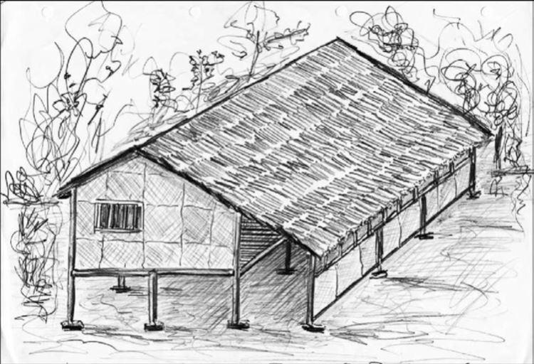 Zelfgebouwd huis